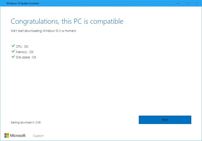 Windows 10 Update Assistant 4