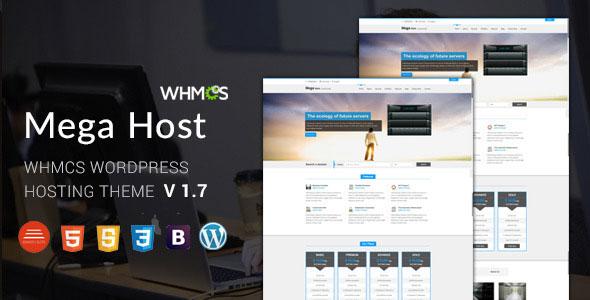 Megahost v1.7 – Hosting WordPress Theme with WHMCS - Majju Tuts
