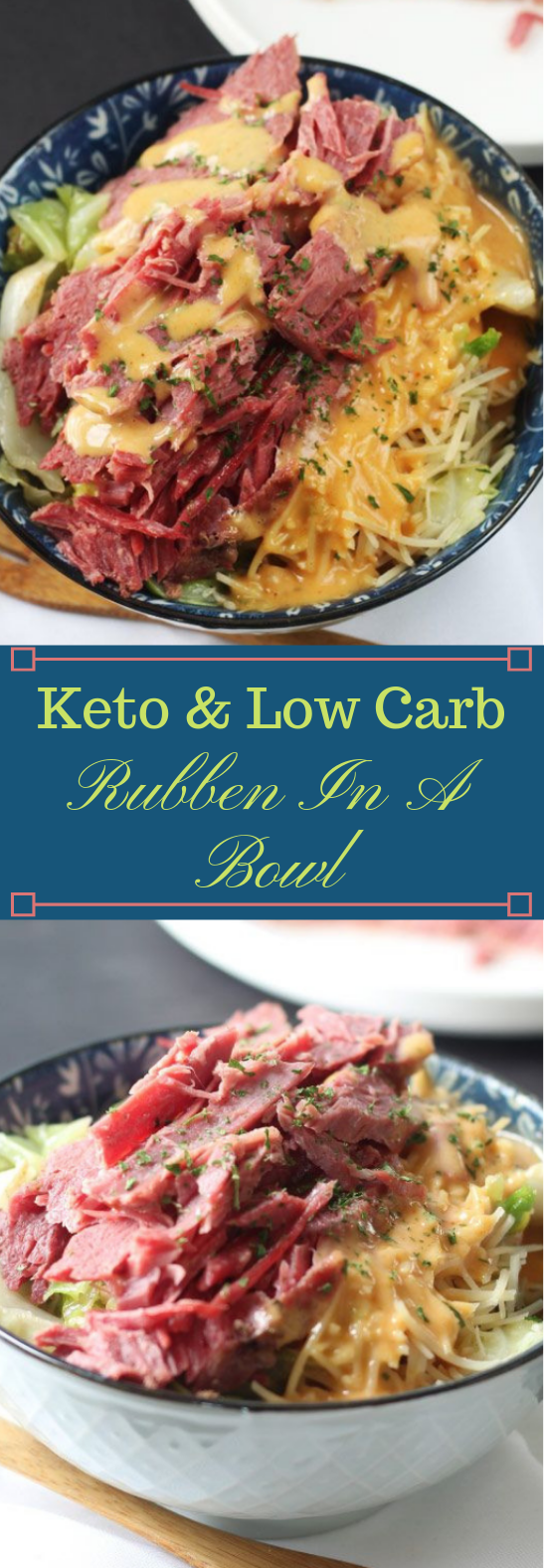 Keto & Low Carb Ruben In A Bowl #dietketo #healthyrecipes #lowcarb #whole30 #paleo