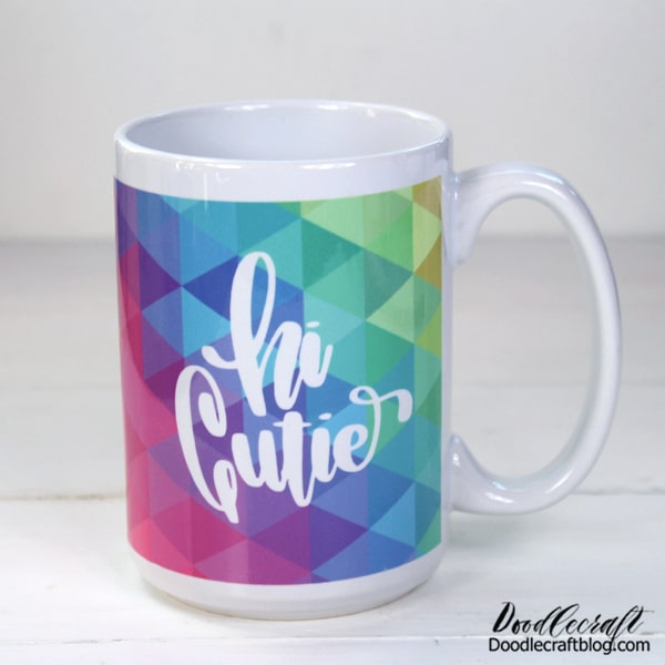 Making a mug using Cricut Infusible Ink is a game changer! Infusible Ink works on sublimation mugs and can be done without a heat press in your own oven. Make a custom mug using Cricut Infusible Ink as the perfect handmade gift.