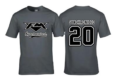 """FM - """"Synchronized"""" swoosh T-shirt"""