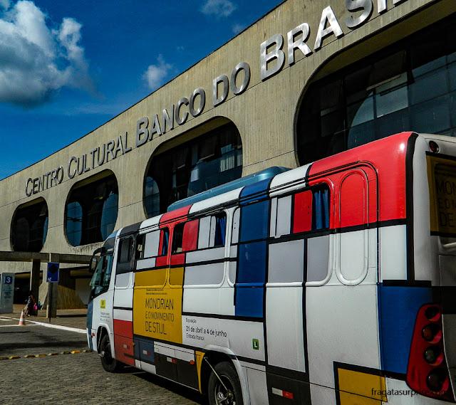 ônibus gratuito para o CCBB Brasília