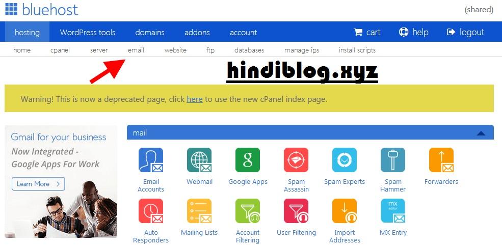 Bluehost Review Hindi Blog