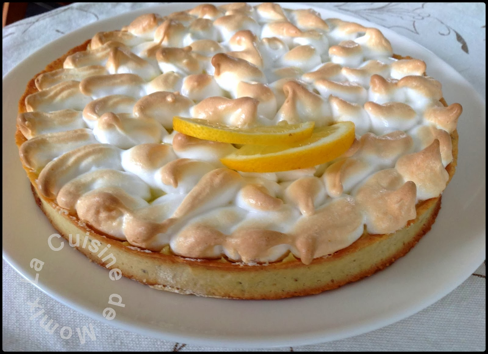 Tarte au citron version Cyril Lignac… Ce nest pas Mercotte