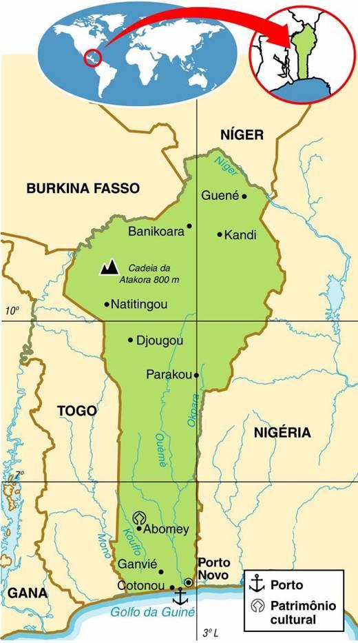Benin | Aspectos Geográficos e Socioeconômicos do Benin