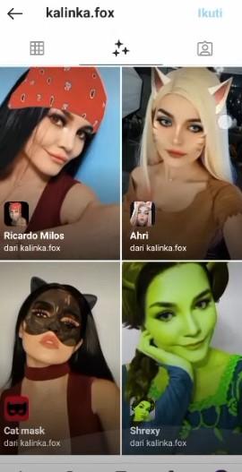 Catwoman Filter Instagram