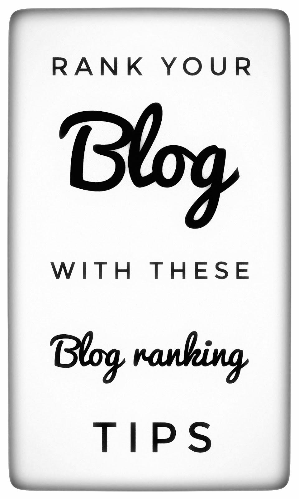 5 best blog ranking tips [ 2019 ]