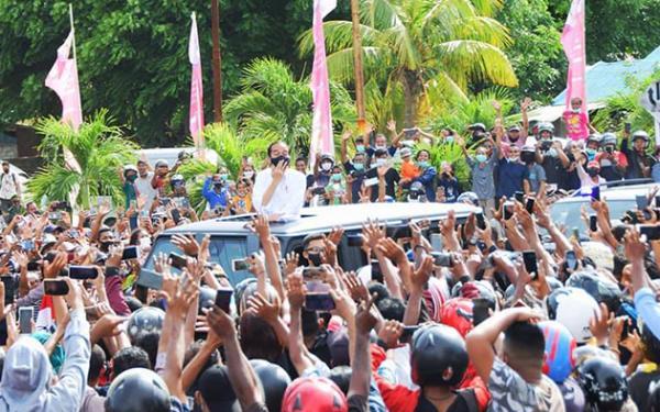 PA 212 Kritik Kerumunan NTT: Jokowi Tunjukkan Hukum Suka-suka