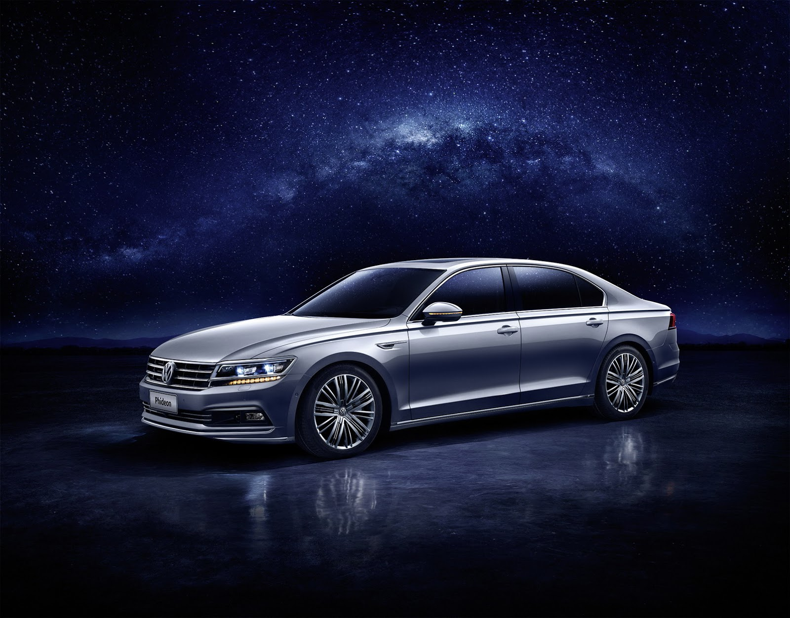 Volkswagen Phideon 2017 là saloon hạng sang dành cho thị trường Trung Quốc