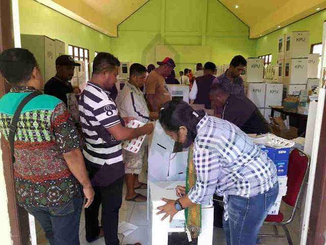 19 Ribu Surat Suara di Kepulauan Tanimbar Rusak, Distribusi ke Tansel Molor