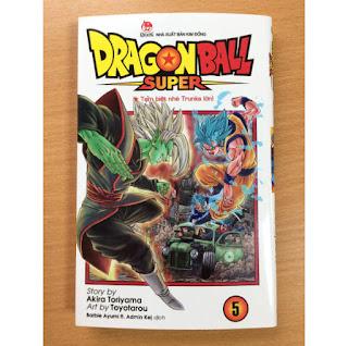 DRAGON BALL SUPER - TẬP 5 ebook PDF-EPUB-AWZ3-PRC-MOBI