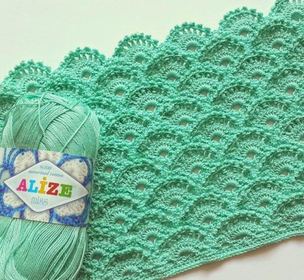 Easy Crochet Pattern Scaly Fish Crochet Yarn Online