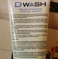 Dwash Moisturising Face Wash Review