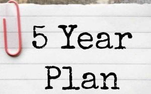 5 års plan PUJA MARIA N.: 5 års plan 5 års plan
