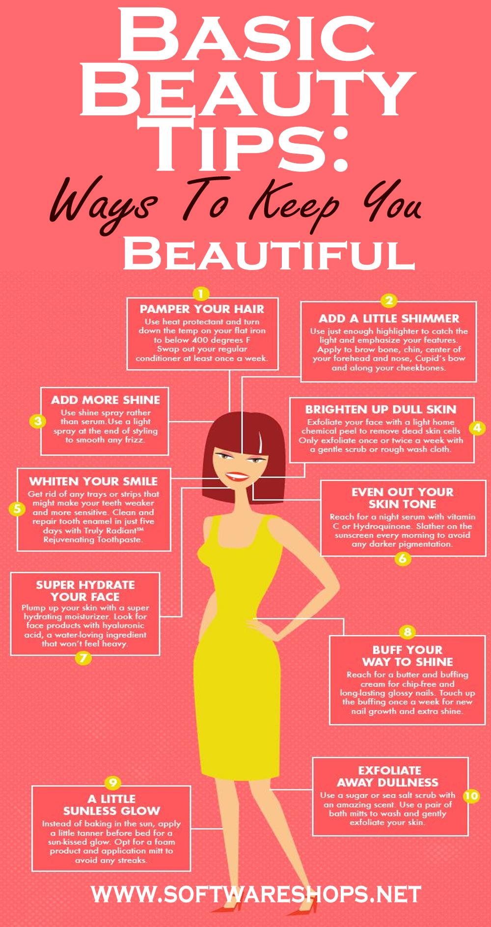 Basic Beauty Tips: Ways To Keep You Beautiful