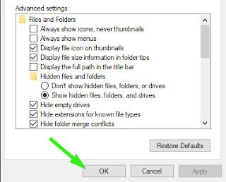 Mengembalikan File dengan Hidden Folder dalam Flashdisk