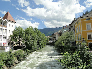 Brunico, in the Sudtirol province of Trentino-Alto Adige,  is largely a German-speaking town