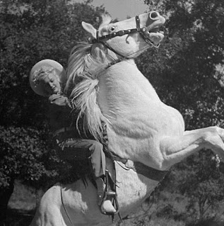 Barbara Moffett On A Horse
