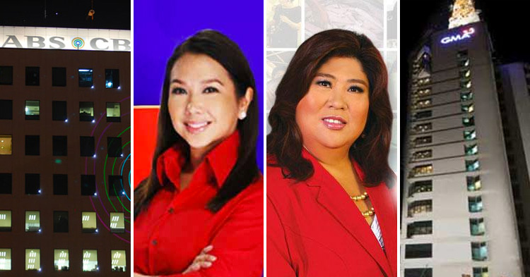 ABS-CBN's Rated K and GMA 7's Kapuso Mo, Jessica Soho