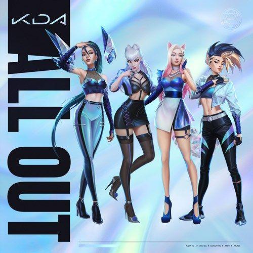 Kda Popstar Lyrics English