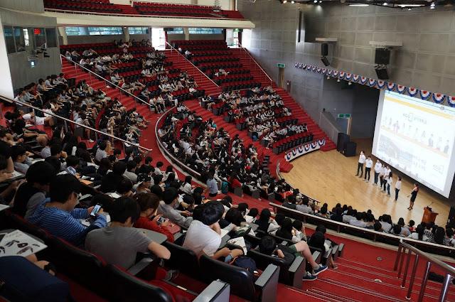 Hội trường Trường đại học Kyonggi Hàn Quốc (경기대학교)