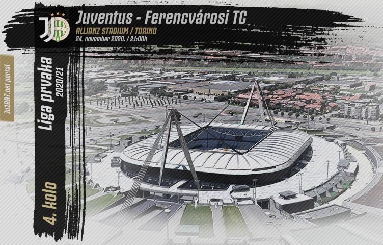 Liga prvaka 2020/21 / 4. kolo / Juve - Ferencvárosi, utorak, 21h