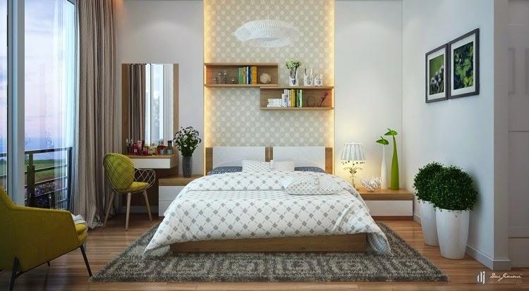 moderno dormitorio matrimonial habitacin