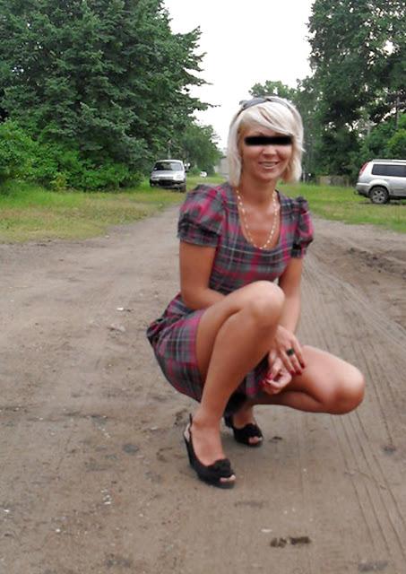 38-jährige Ehefrau sucht Parkplatzfick auf der A14