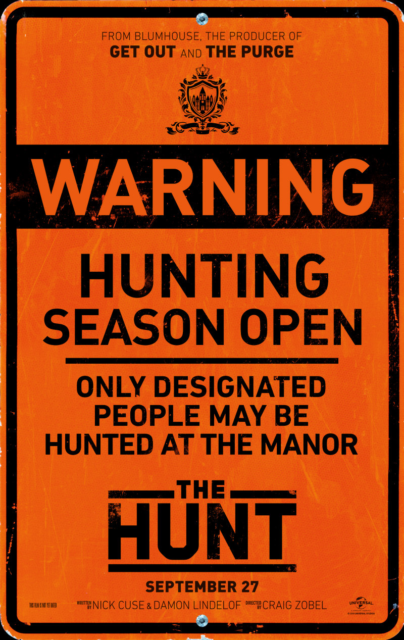 the hunt blumhouse poster