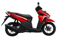 Honda vario 125 eSP 2016 merah