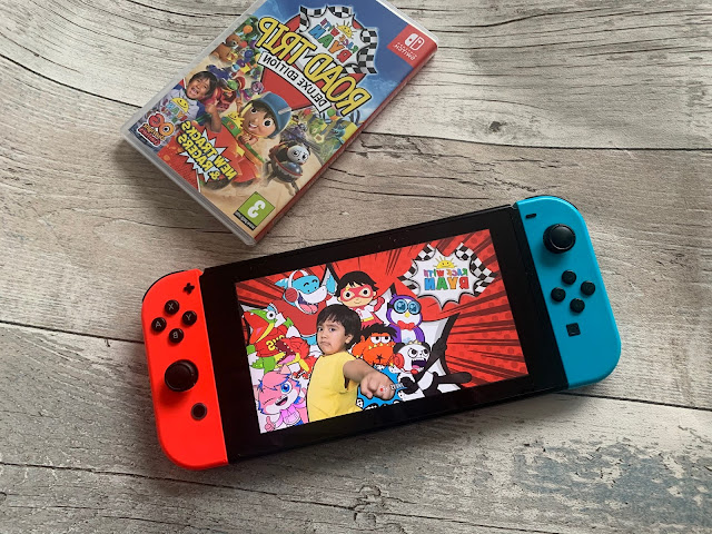 Race With Ryan Road Trip Deluxe Edition Switch Game Review