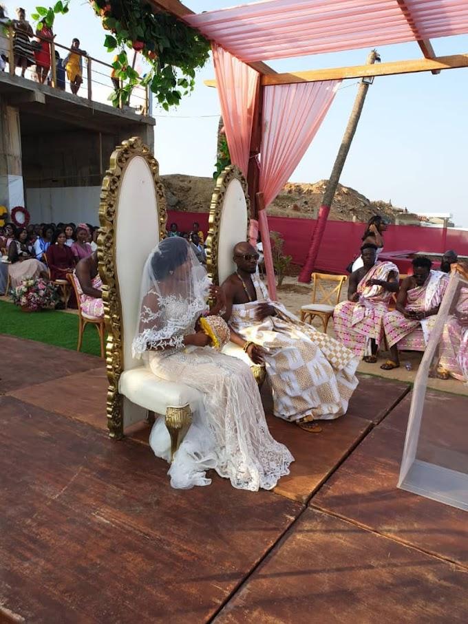 Photos from Eugene Osafo Nkansah and Victoria Lebene beach wedding