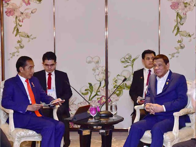 Jokowi dan Rodrigo Duterte Sepakati Ratifikasi ZEE Indonesia – Filipina