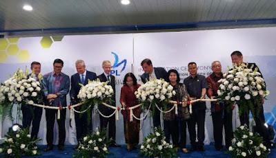 Peresmian Pusat Distribusi Nasional Oleh Direktur APL, Christophe Piganiol Korea
