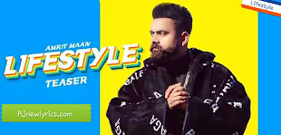 Amrit maan lifestyle new song lyrics in English and hindi rjnewlyrics