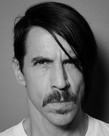 Anthony Kiedis Mustache