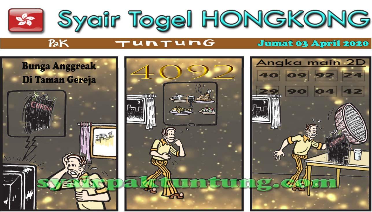 Prediksi HK Malam Ini Jumat 03 april 2020 - Syair HK Pak Tuntung