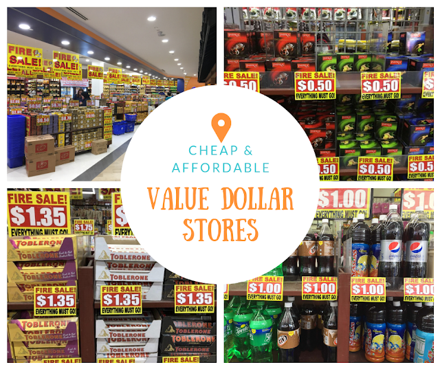 VALUE DOLLAR STORES