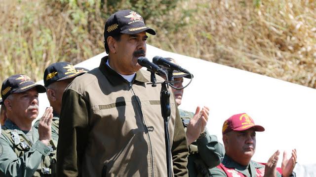 "Maduro rechaza el ""llamado golpista"" de John Bolton a militares venezolanos"