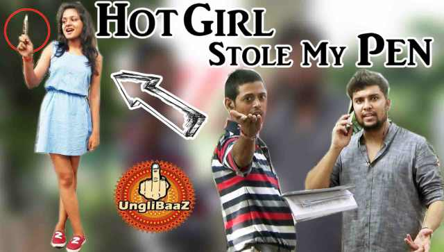 Hot Girl Stole My Pen Funny Pranks