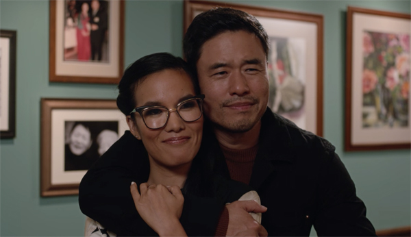 image of Ali Wong as Sasha and Randall Park as Marcus in 'Always Be My Maybe'