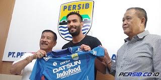Persib Bandung Resmi Rekrut Marcos Flores