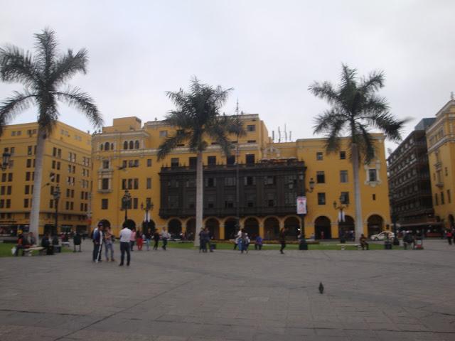O que ver e fazer em Lima? Plaza de Armas