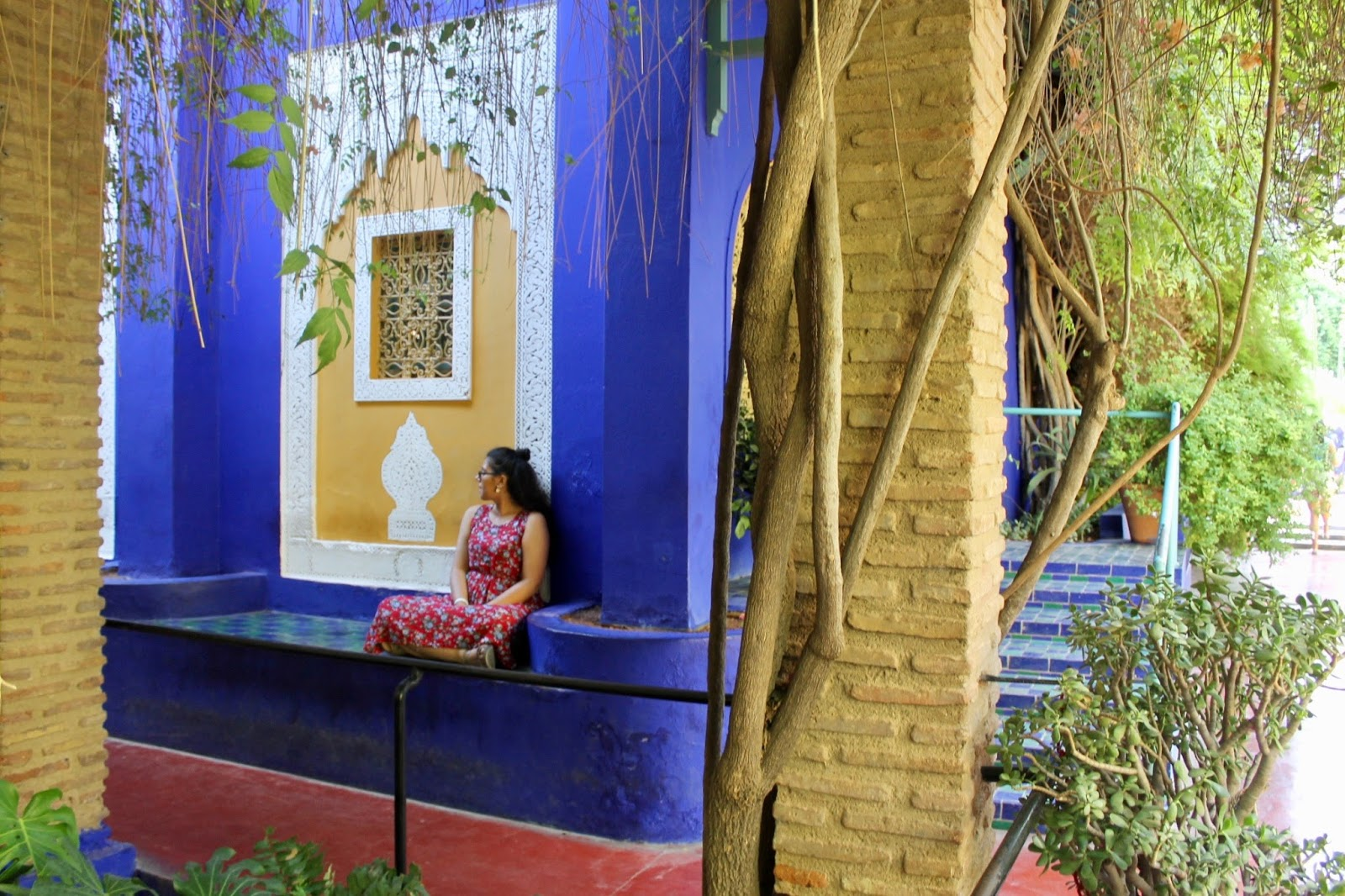 Architecture and Plants Majorelle Garden