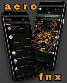Lion Medusa Theme For YOWhatsApp & Aero WhatsApp By Ave fénix