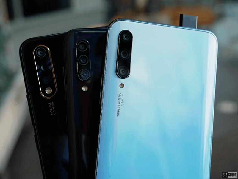 Triple-cam phones