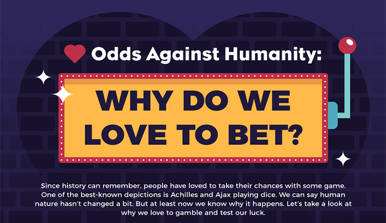 Why Do We Love to Bet? #infographic