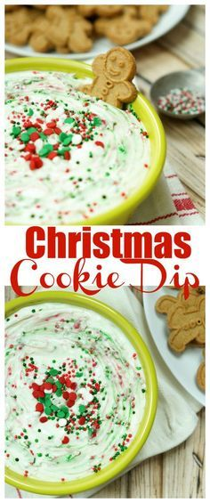 quick and easy Christmâs Cookie Dip