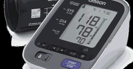 Check Out The New OMRON M2 Electronic Blood Pressure Monitoring Device