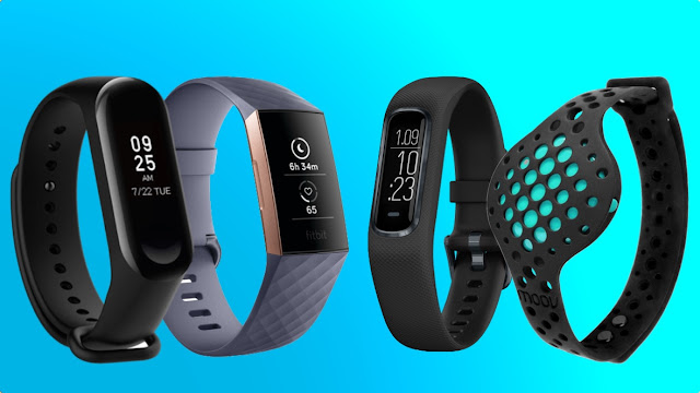 Fitness tracker dạng smartband
